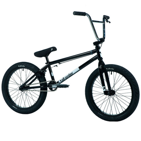 Tall Order Pro Bike - Gloss Black With Chrome Bars 20.85"