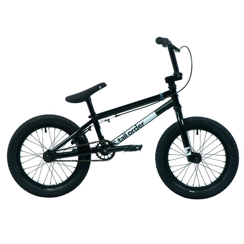 "Tall Order Ramp 16"" Bike - Gloss Black 16.5"" 