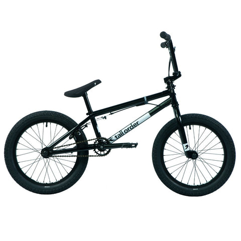 "Tall Order Ramp 18"" Bike - Gloss Black 18.5"" 