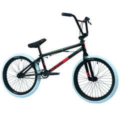 Tall Order Ramp Medium Bike - Gloss Black With White Tyres 20.3"