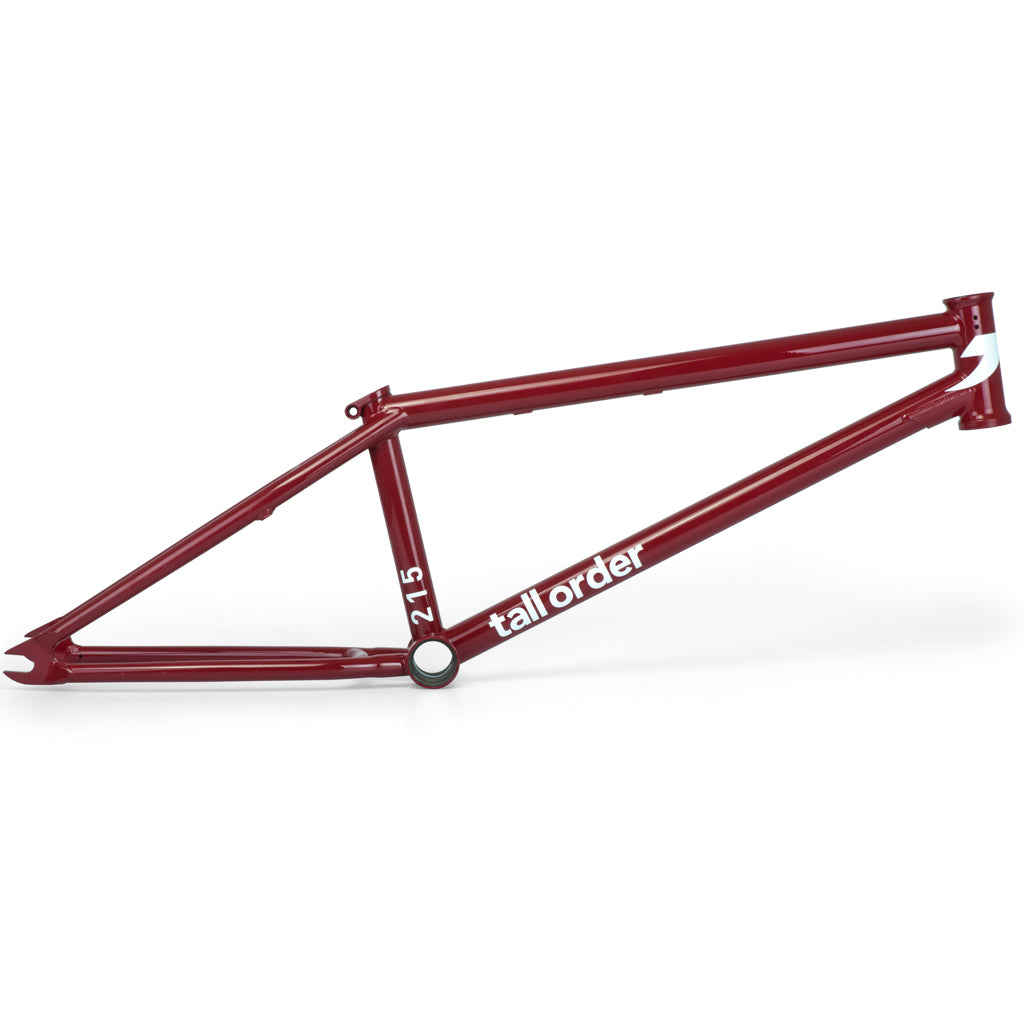 Tall Order 215 Frame - Gloss Red | BMX