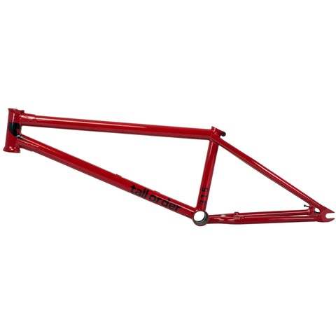 tall order bmx 315 frame gloss red | BMX