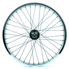 Tall Order Dynamics RHD Casette Wheel - Black With Chrome Rim 9 Tooth | BMX