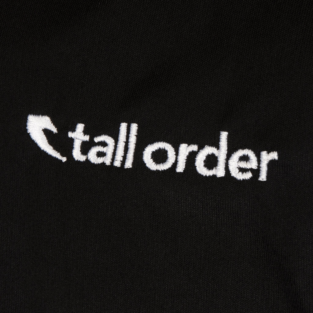 Tall Order Embroidered Logo Long Sleeve Breath-tec - Black | BMX
