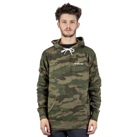 Tall Order Embroidered Logo Sweatshirt - Camo | BMX