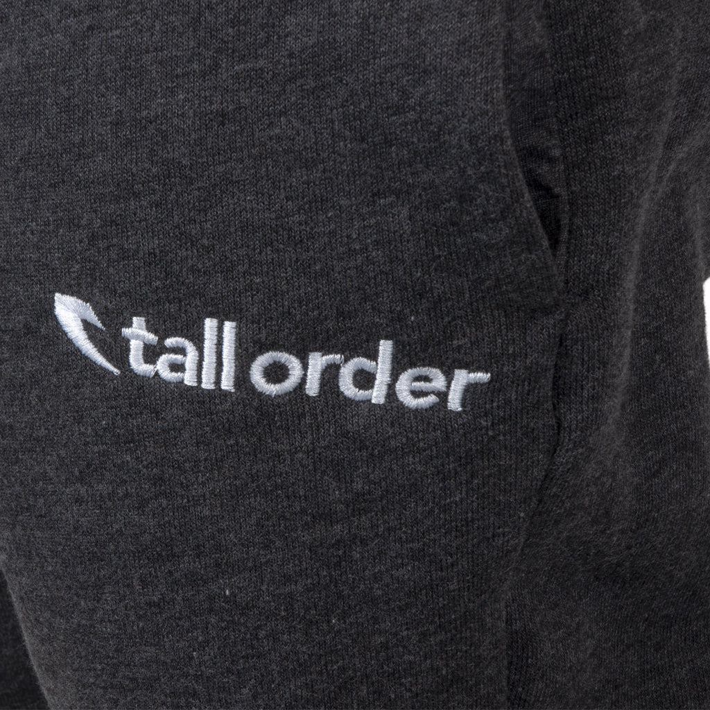Tall Order Embroidered Logo Joggers - Dark Grey Heather | BMX