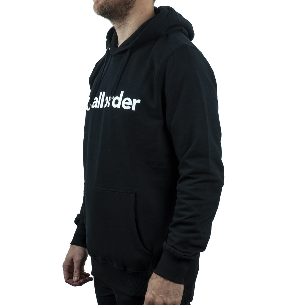 Tall Order Font Hooded Sweatshirt - Black