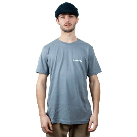 Tall Order Stone Small Logo T-Shirt - Grey | BMX