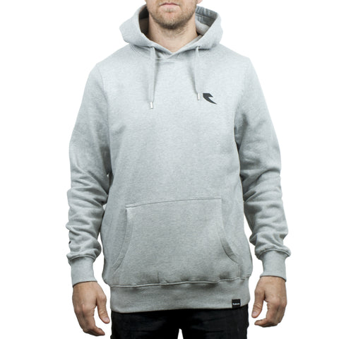 tall order bmx logo long sleeve hoody grey