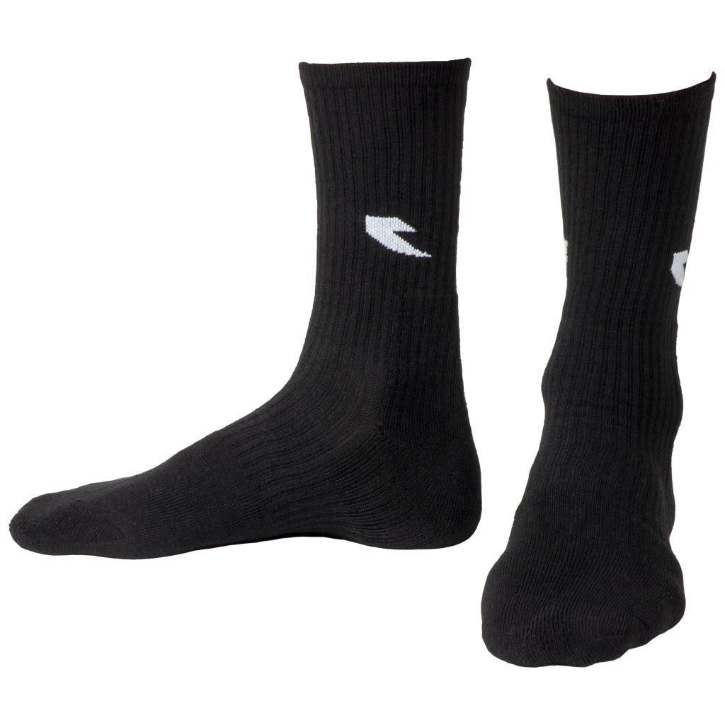 Tall Order Logo Socks - Black With White Logo