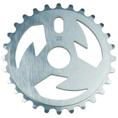 Tall Order Logo Sprocket - Silver | BMX
