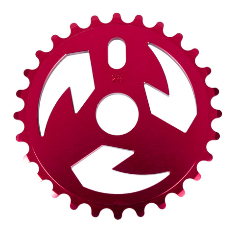 Tall Order Logo Sprocket - Red | BMX