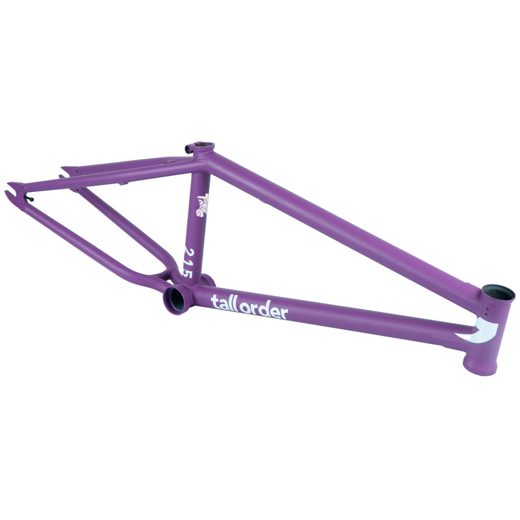 Tall Order 215 V3 Frame - Cranmer Matt Purple | BMX