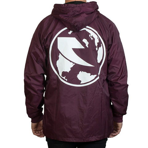 Tall Order New World Order Jacket - Maroon
