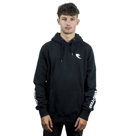 Tall Order Patch Logo Hooded Sweatshirt - Black | BMX