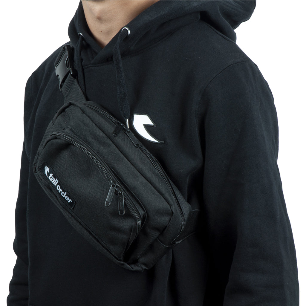 Tall Order Patch Logo Shoulder Bag - Black | BMX