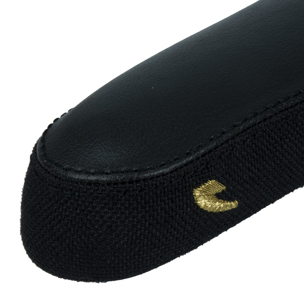 Tall Order Slim Titanium Railed Seat - Black With Gold Logo | BMX