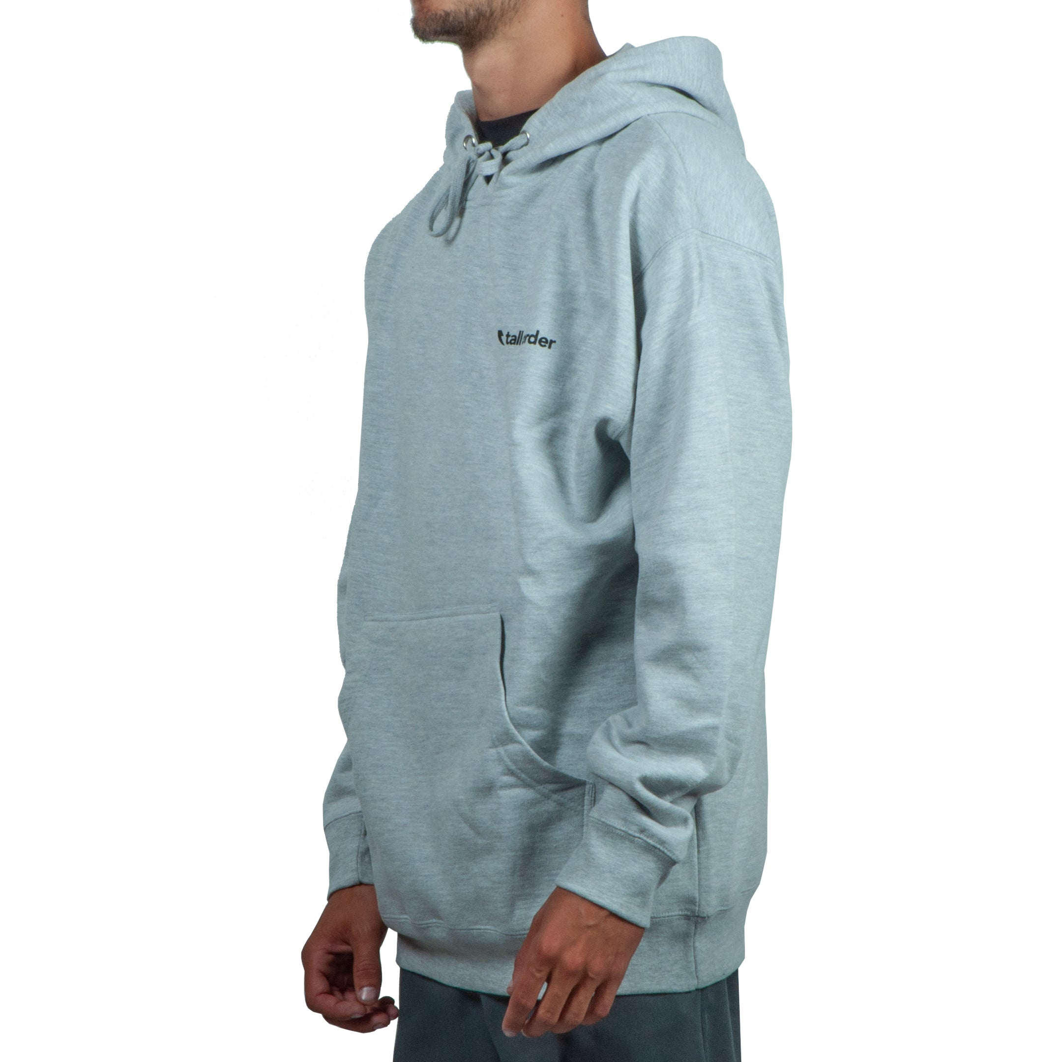 Tall Order Small Logo Hoodie - Grey | BMX