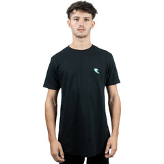 Tall Order Teal Square Logo T-Shirt - Black | BMX