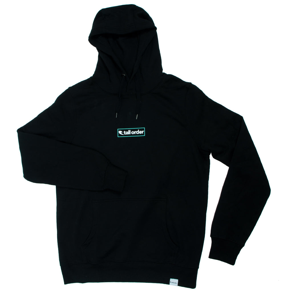 Tall Order Outline Logo Hooded Sweatshirt - Black | BMX