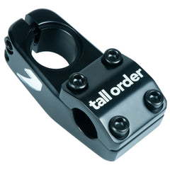 Tall Order Logo Stem - Black With Silver Logos 50mm Reach | BMX
