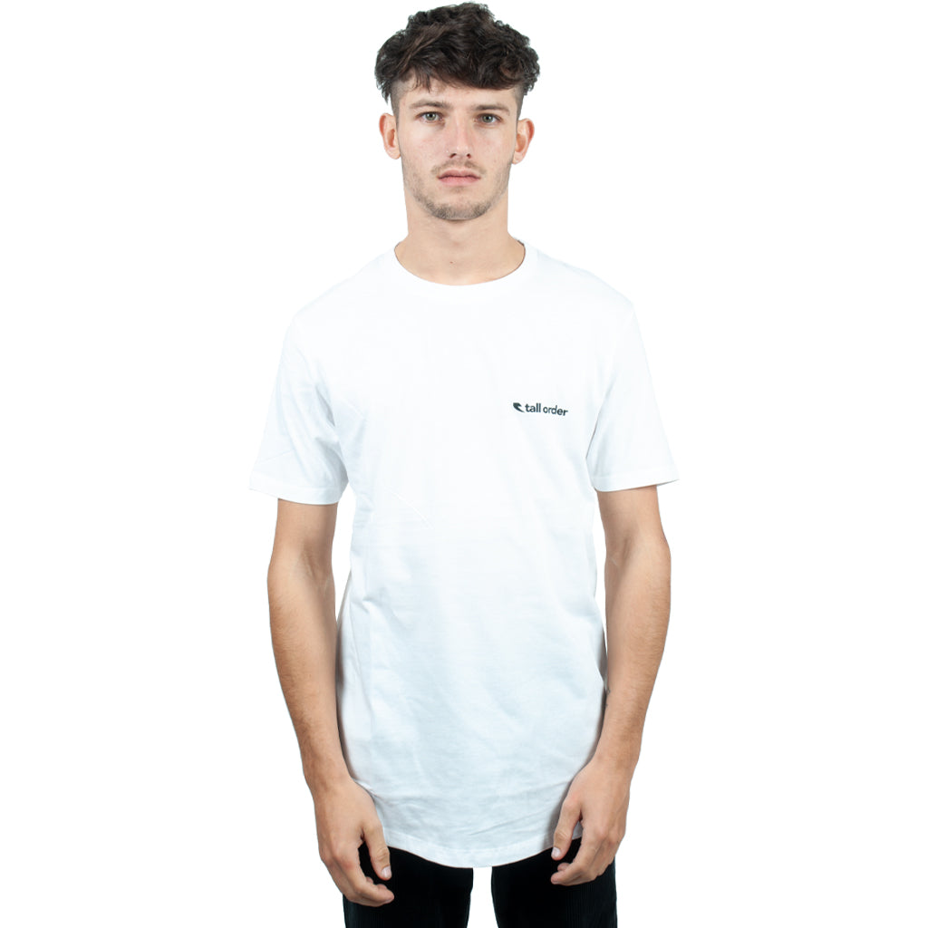 Tall Order Totem T-Shirt - White | BMX