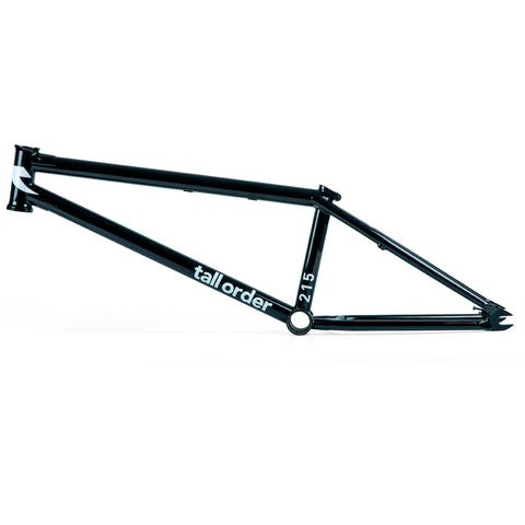 Tall Order 215 V2 Frame - Gloss Black | BMX
