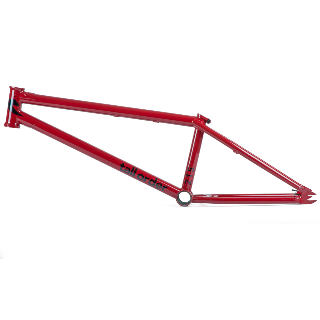 Tall Order 215 V2 Frame - Gloss Red | BMX