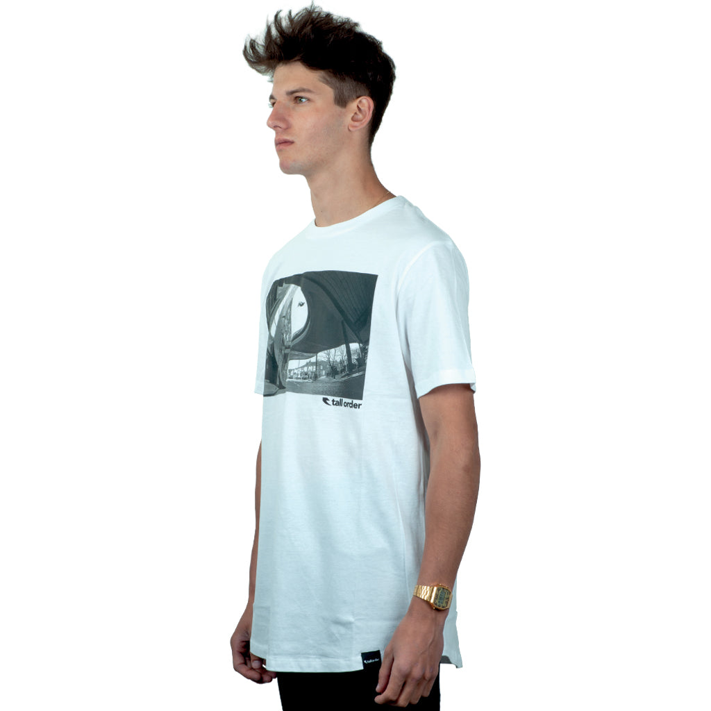 Tall Order Not Pulled Photo T-Shirt - White | BMX