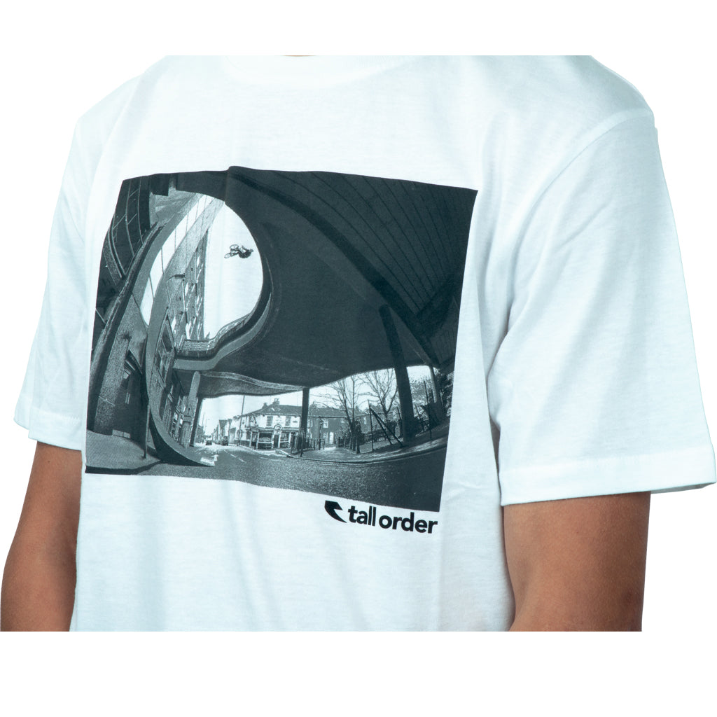 Tall Order Photo T-Shirt - White | BMX
