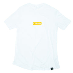 Tall Order Block Logo T-Shirt - White | BMX