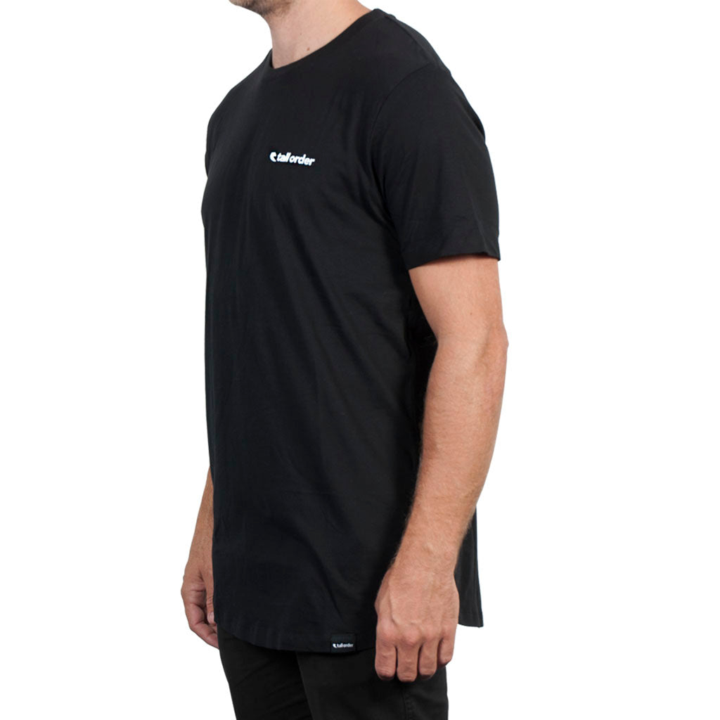 Tall Order Logo T-shirt - Black