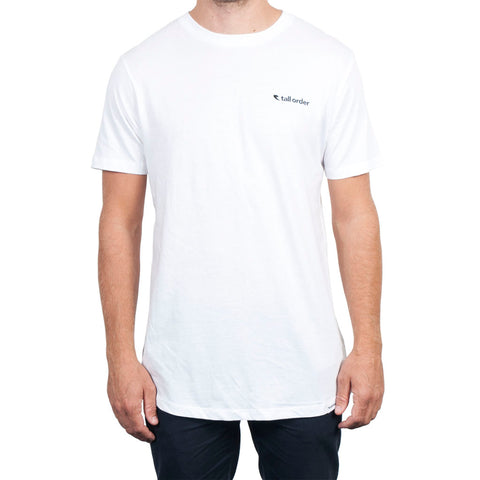 Tall Order Logo T-shirt - White
