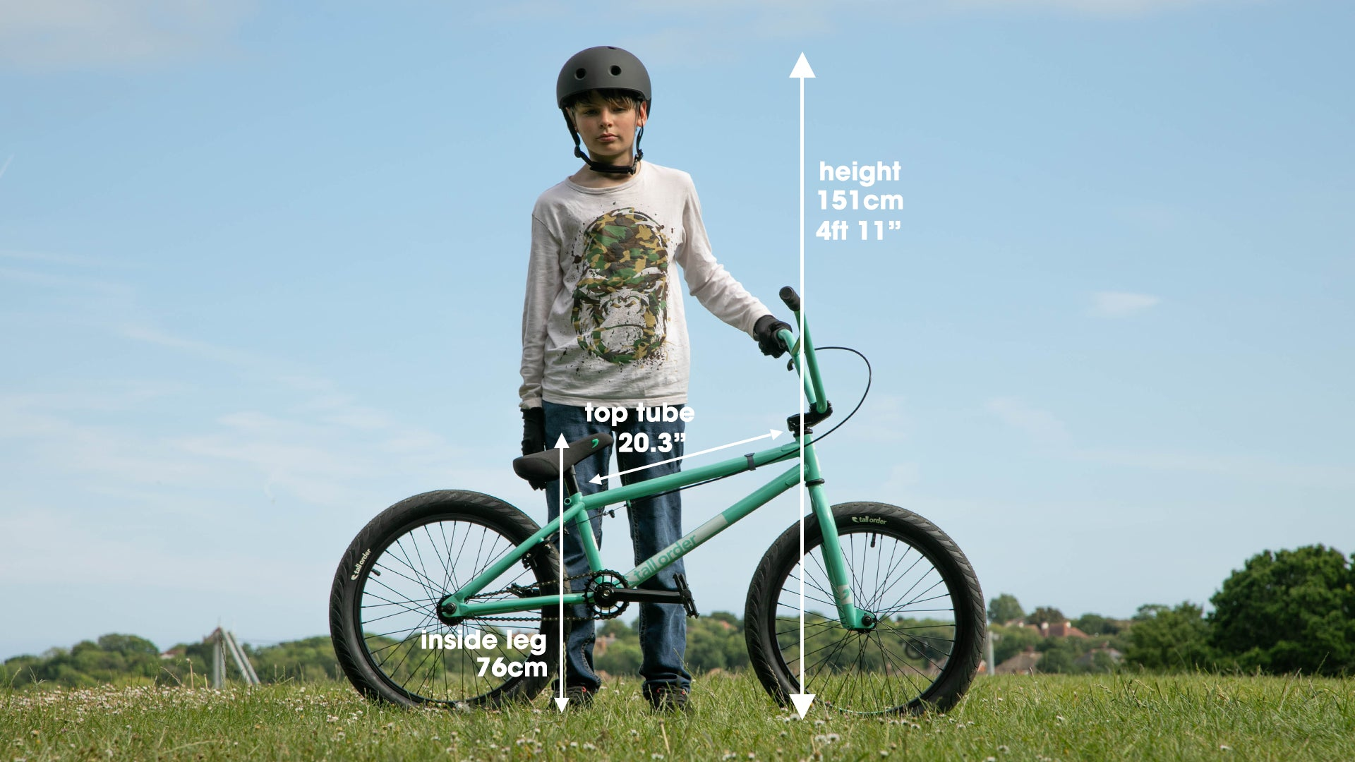 Tall Order Ramp Medium Bike - Gloss Teal 20.3"