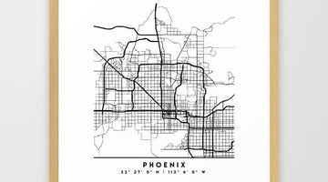 Top 10 Popular Phoenix, Arizona Framed Artworks