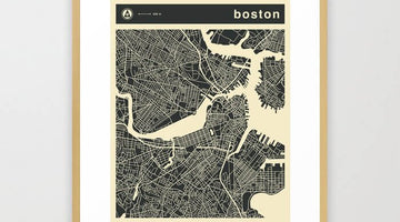 Top 10 Popular Boston Framed Artworks
