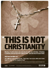 This is Not Christianity: Free Poster Download