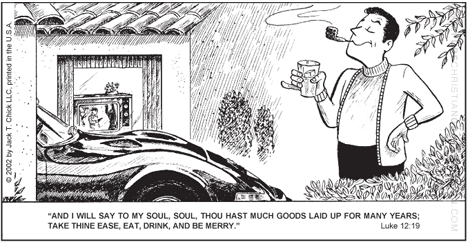 Christian comic (or Tract) over on Chick Publications image