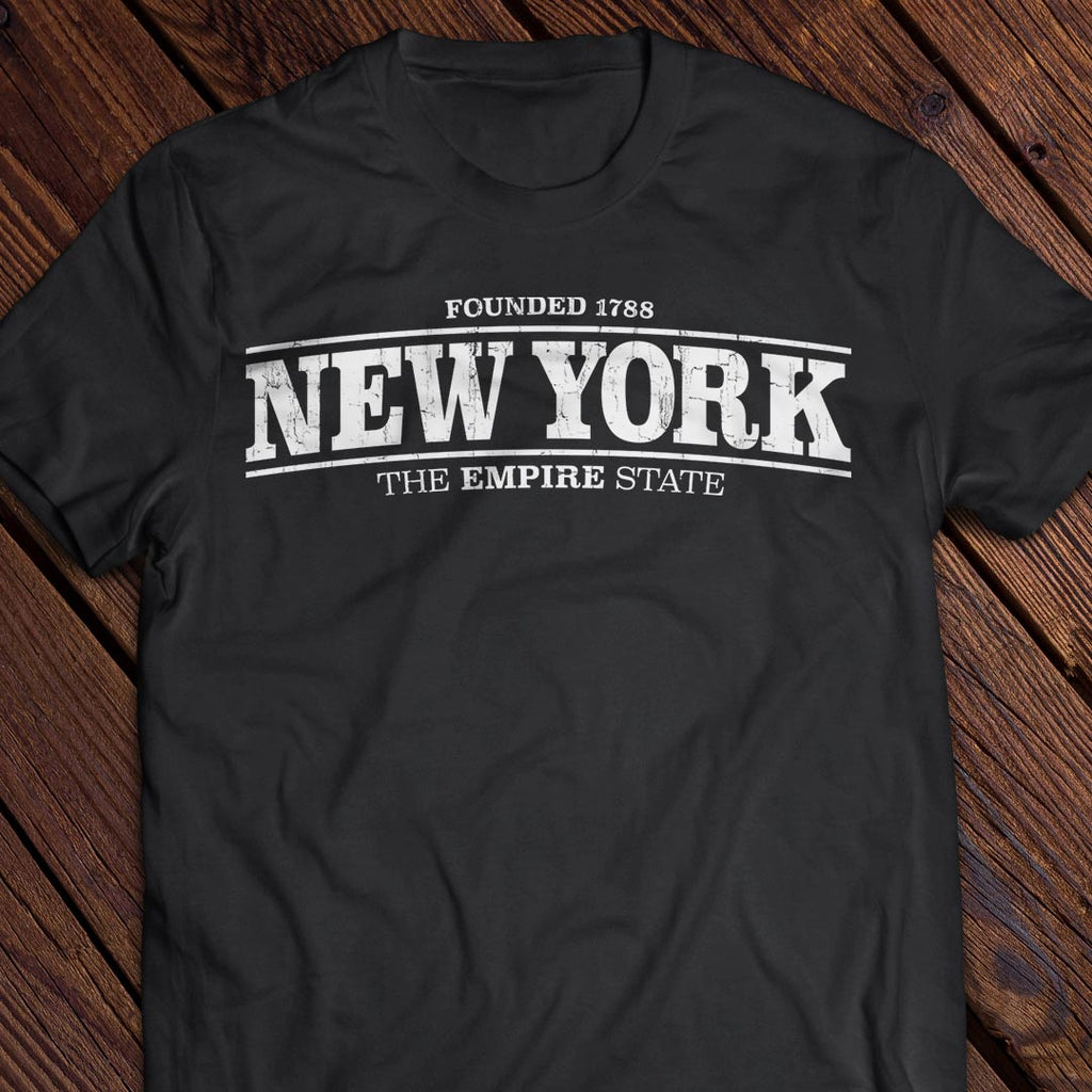 New York 1788 Empire State Tee
