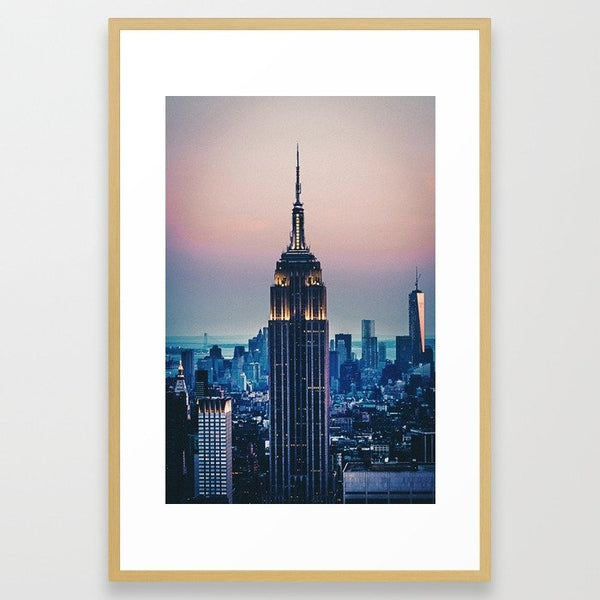 New York City Framed Art Print image