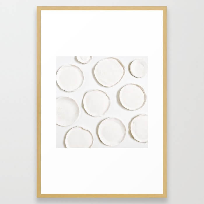 Lifestyle Background 25 Framed Art Print