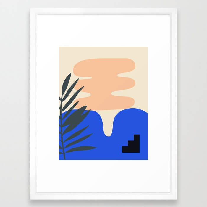 Stackable Collection Framed Art Print
