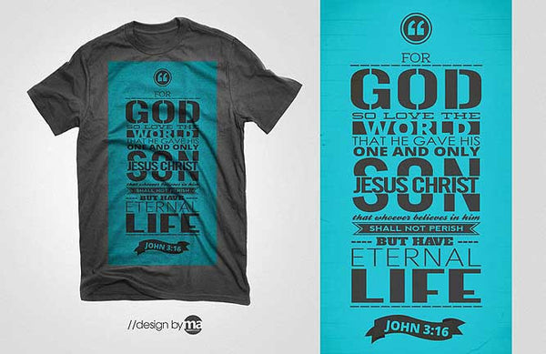 Amazing Christian T Shirt Designs By Macky Angeles