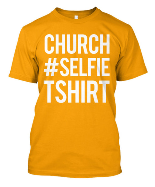 Amazing Church Selfie Tshirt
