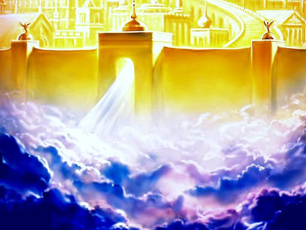 Stunning Heaven's Golden Walls image