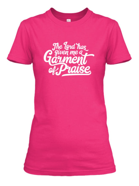 Lord has given me a Garment of Praise image