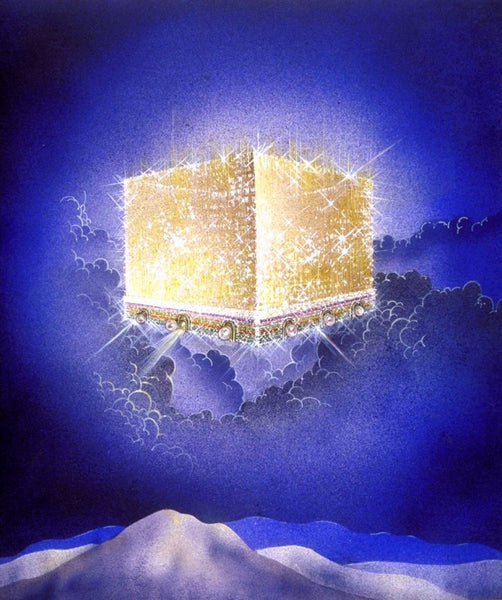 The New Jerusalem golden city image