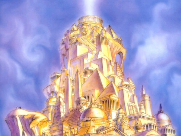 Heaven golden city new Jerusalem image