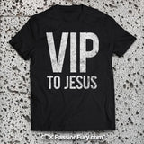 Christian Apparel Shirt laid on stone background.