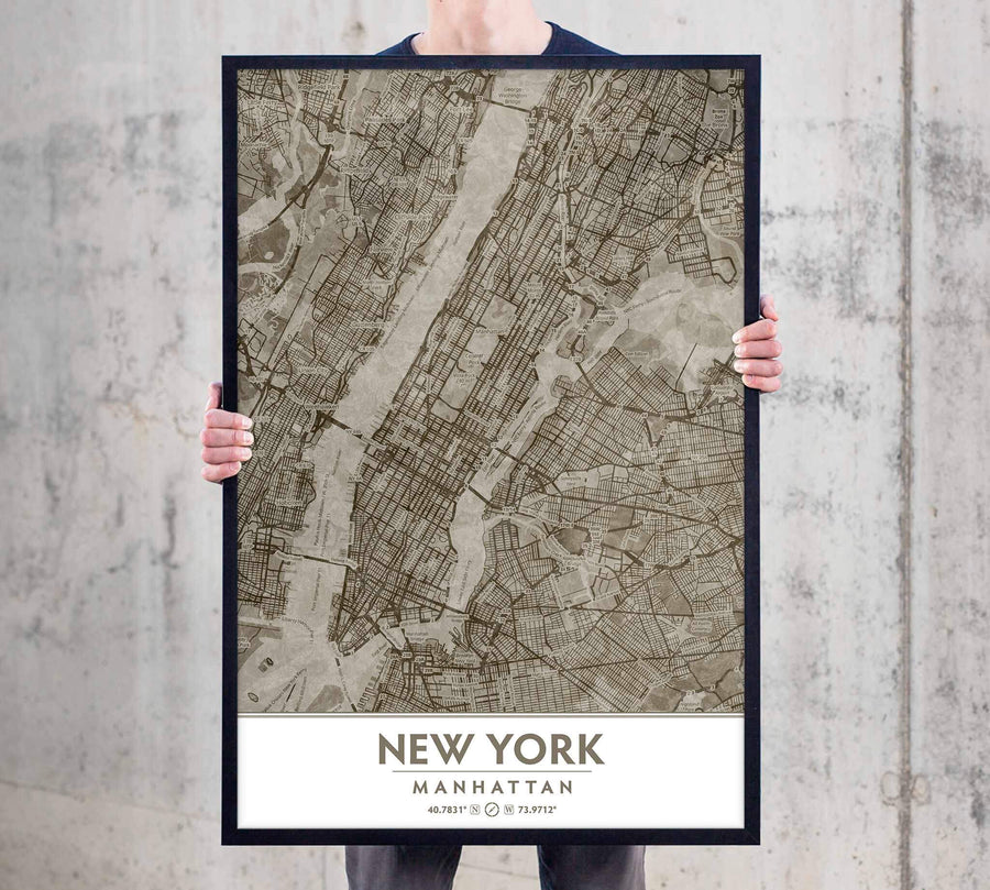 Putty NYC Framed artwork large-format art